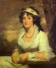 portrait regency woman